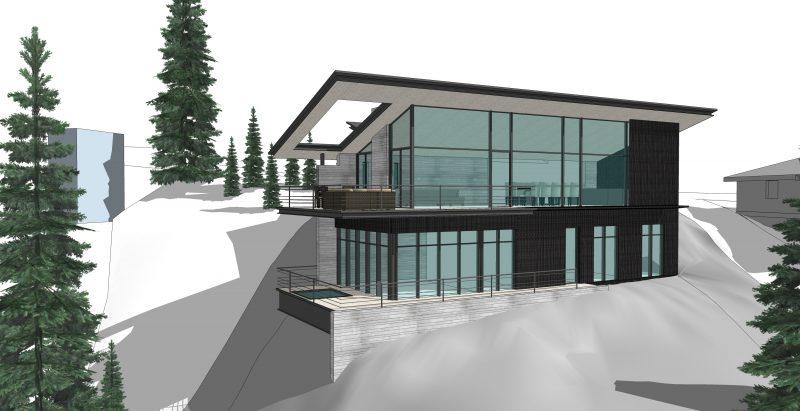 Alpine Ski Lodge